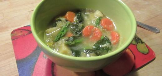 Spring Garden Soup