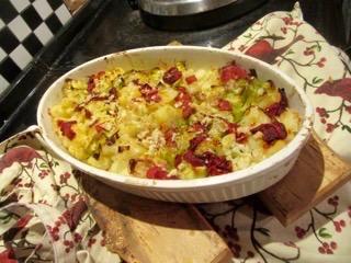 Potato, Cauliflower & Leek Medley