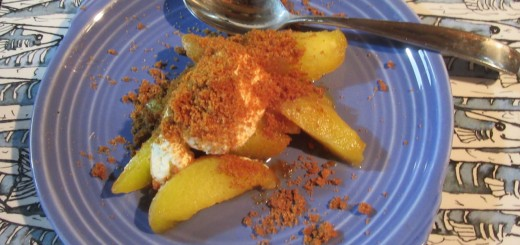 Barbecued Peaches