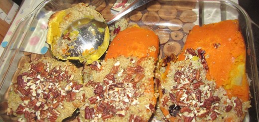 Stuffed Autumnal Squash
