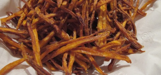 Smoky Sweet Potato Straws