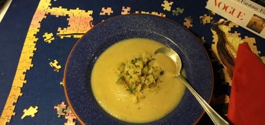 Cauliflower Soup a la Polonaise
